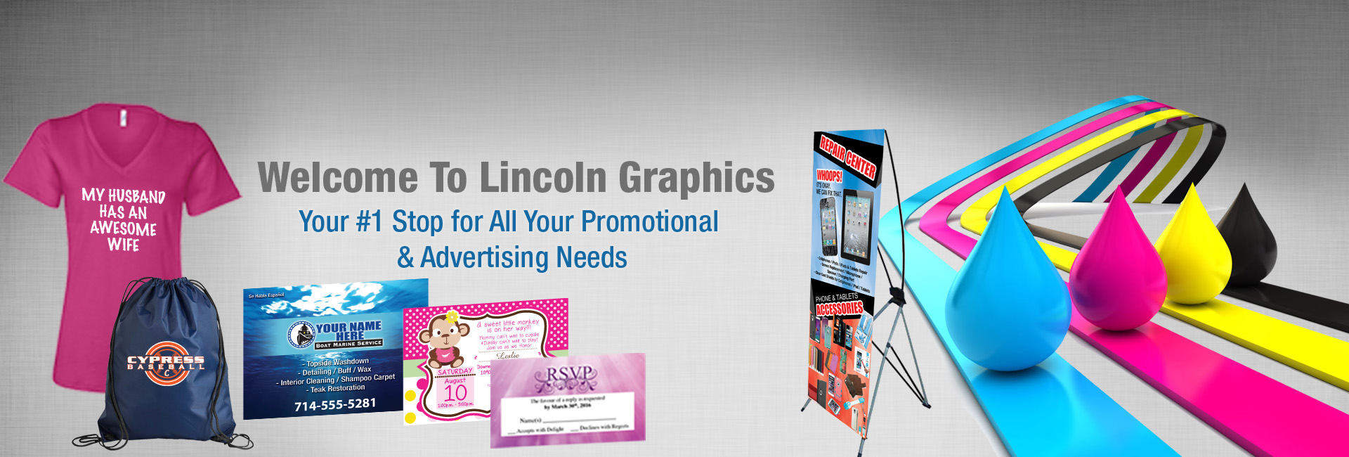Lincoln Graphics | Printing – Screen Printing – Signs